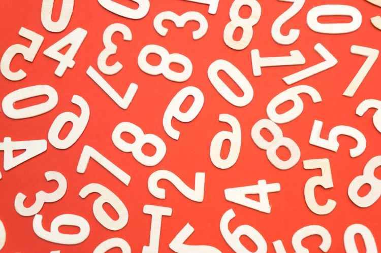 lots of numbers